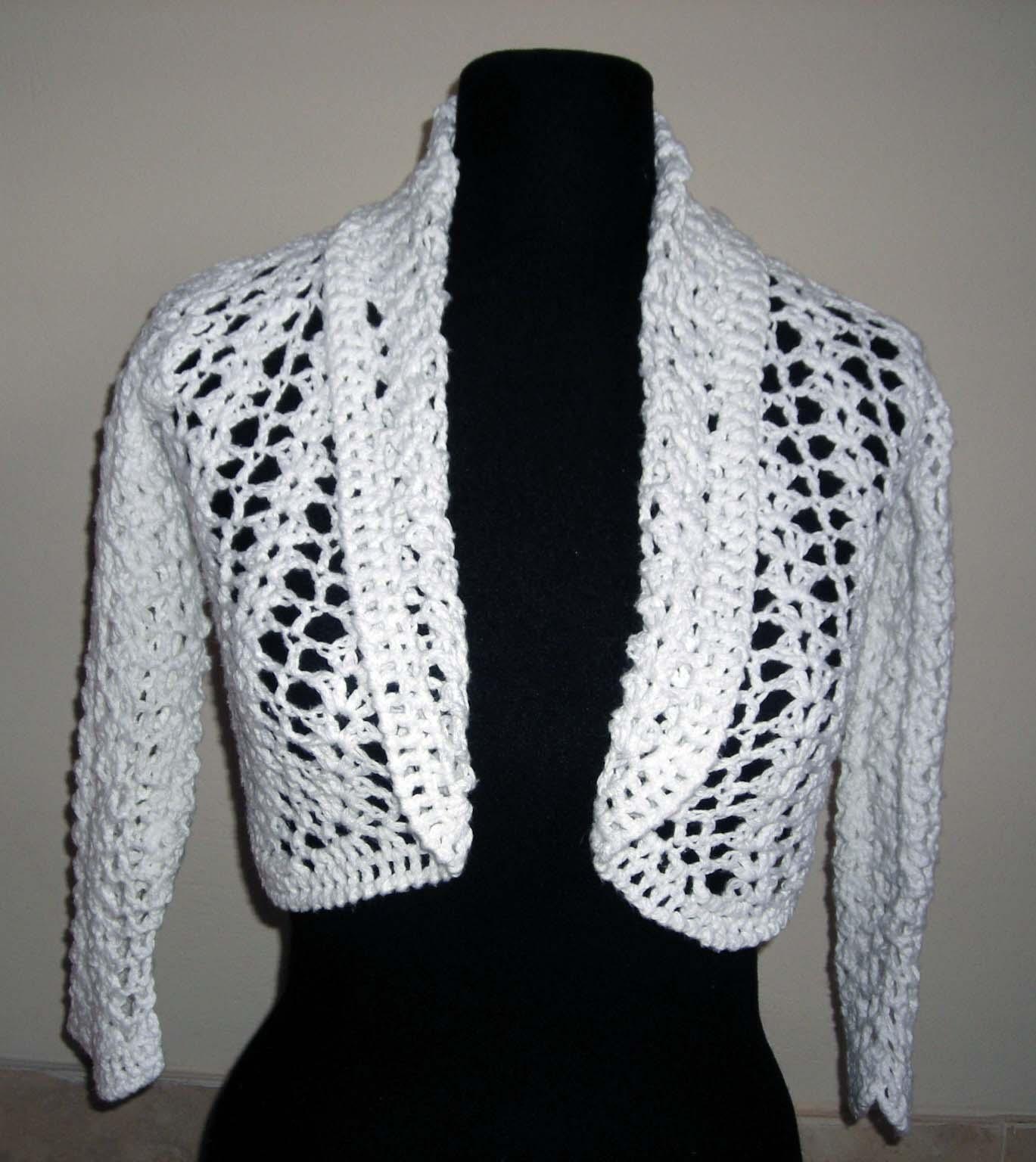 Bolero En Crochet